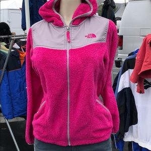 The North face womans fleece sweater